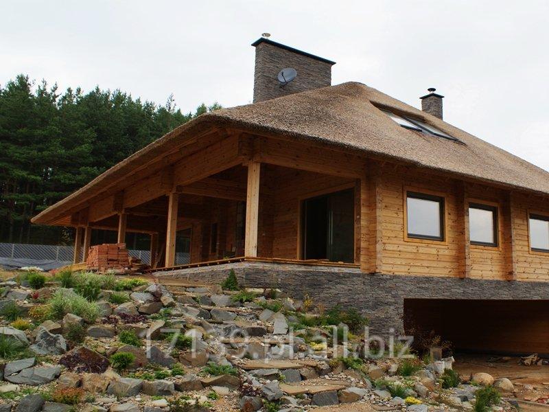 Domy z bali kwadratowych