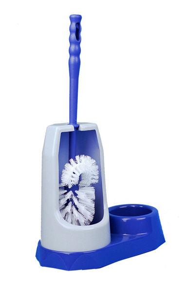 Kupić Komplet WC z pojemnikiem i elementem do czyszczenia rantu