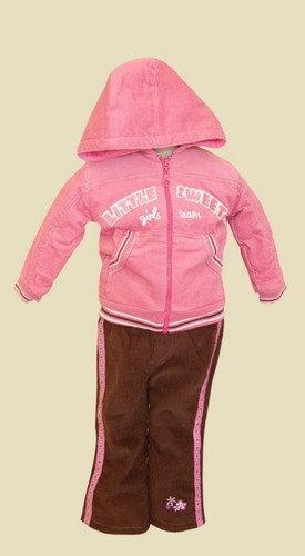 Kupić Zestaw niemowlęcy dla dziewczynki 3-częściowy o symbolu PL-999 .