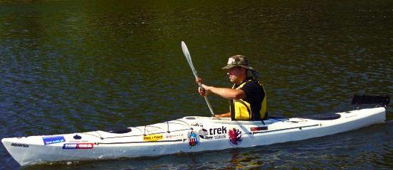 Kupić Uniwersalny kajak turystyczny. Multi - purpose tourist kayak.