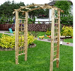 Kupić Pergole ogrodowe do roślin wykonane z drewna.