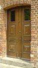 Kupić Drzwi zewnętrzne i wewnętrzne z dębu, jesionu, meranti.
