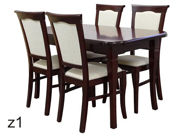 Kupić Komplety stoły i krzesła z drewna