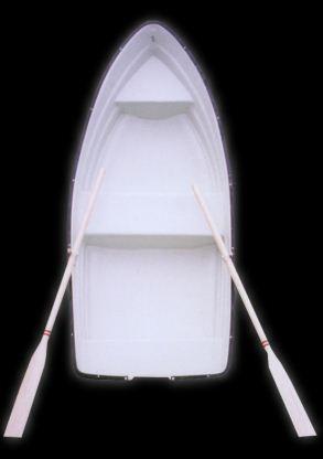 Kupić Łódka wiosłowa wędkarska, płaskodenna. Fish boat.