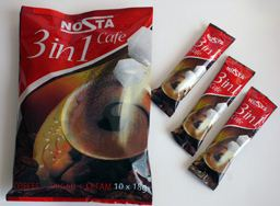 Kupić Napój kawowy 3in1, w torebkaach 18g oraz napoje cappuccino.