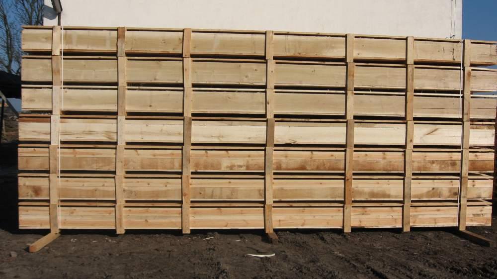 Kupić Skrzynie drewniane o długości 7,5m