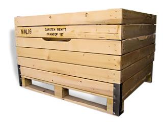 Kupić Skrzynia drewniana
