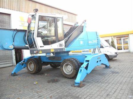 Kupić Koparka do złomu przeładunku Fuchs 340 MHL 2007