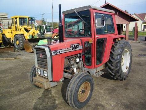 Kupić Ciągnik rolniczy MASSEY FERGUSON 550