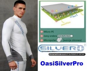 Kupić Bielizna termoaktywna antybakteryjna Silverplus Bluza męska 9268
