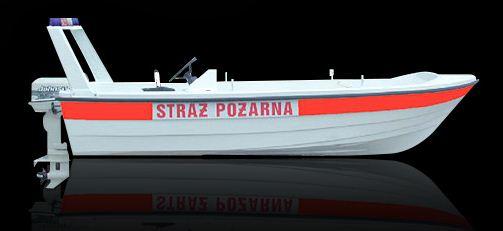 Kupić Wielofunkcyjna otwarta łódź na wody śródlądowe o niewielkim zanurzeniu.