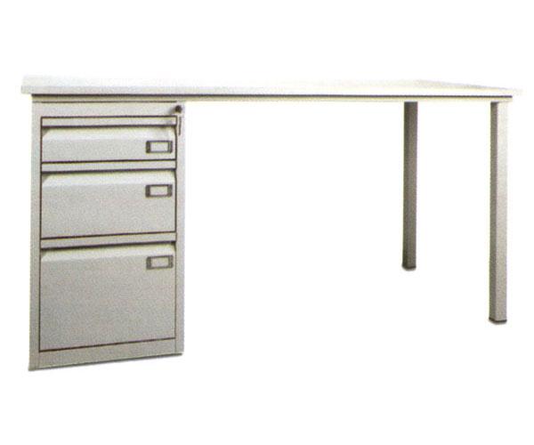 Kupić Biurko metalowe z szafką 3 - szufladową