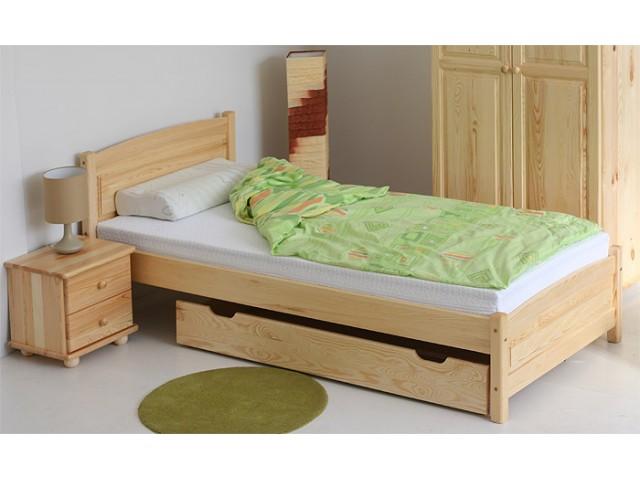 łóżko Z Drewna Sosonowego Lk J 100x200 Kupić W Sucha Beskidzka