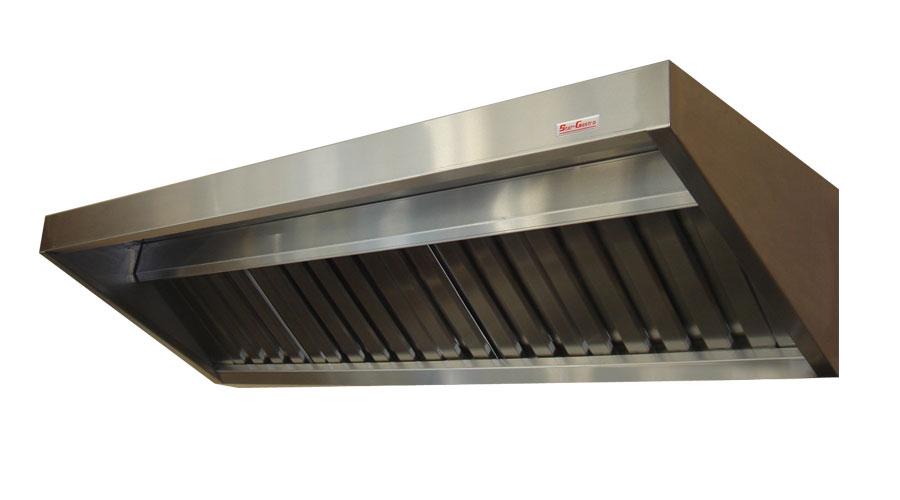Niewiarygodnie Okap gastronomiczny 1600x700x350 kupić w Gdańsk YG37