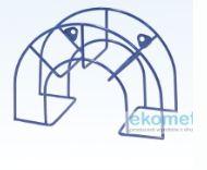 Kupić Stojaki reklamowe półokrągłe