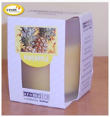 Kupić Świeczka w szkle pineapple (bolsius)