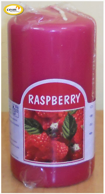 Kupić Świeca 120/60 raspberry (bolsius)