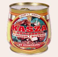 Kupić Kasza z mięsem i grzybami 980g
