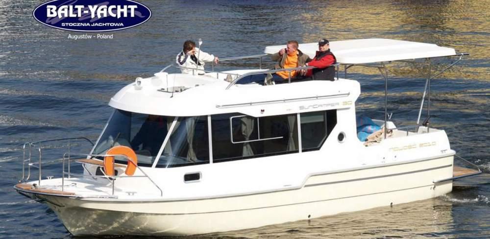 Kupić Sun Camper 30, łódź kabinowa z silnikiem stacjonarnym. Sun Camper 30, cabin boat with stationary engine.