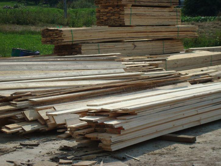 Kupić Oferujemy podbitkę i krawędziaki drewniane