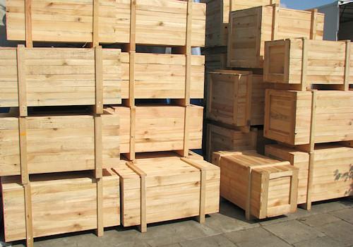 Kupić Pudła drewniane