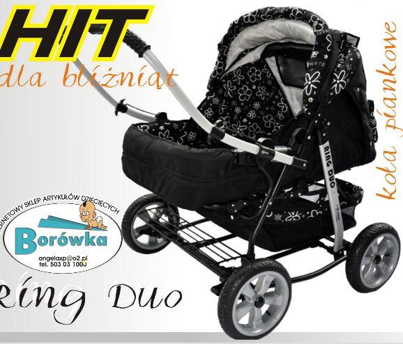 Kupić Wózek dla bliźniąt Ring Duo