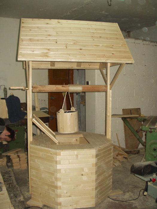 Kupić Studnie drewniane