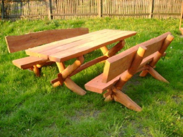 Kupić Ławki drewniane