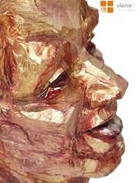 Kupić Śmieszke - drewno,polichromowana, ludźka głowa