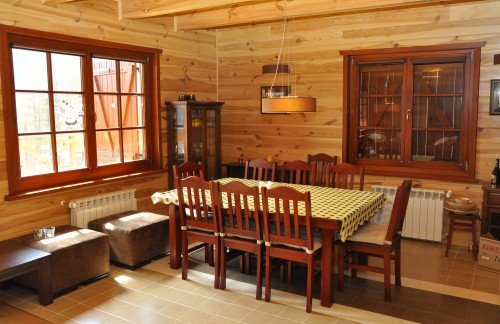 Kupić Wnętrza drewniane