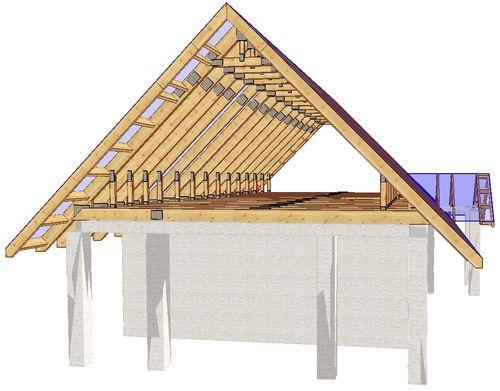 схема крыши фото