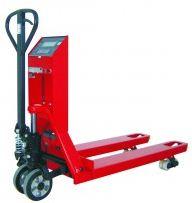 Kupić Wózki paletowe z wagą legalizowaną z odczytem LCD.