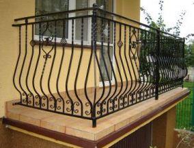 Kupić Balustrady balkonowe lakierowane proszkowo.