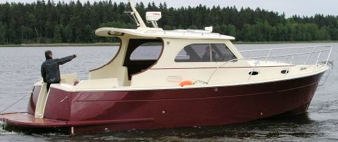 Kupić Guernsey 34, luksusuowy jacht motorowy z dwiema sypialniami.