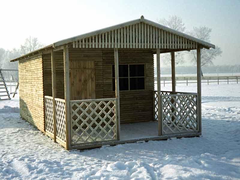Kupić Domek z tarasem duży