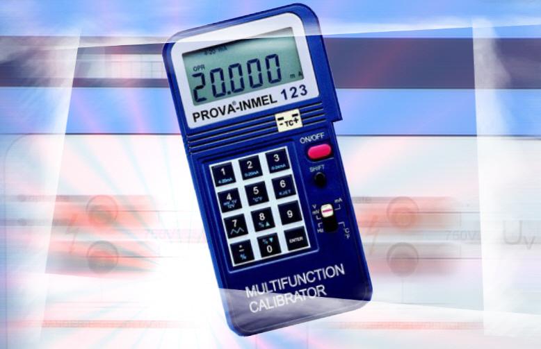 Kupić Kalibrator dla automatyków PROVA-INMEL 123