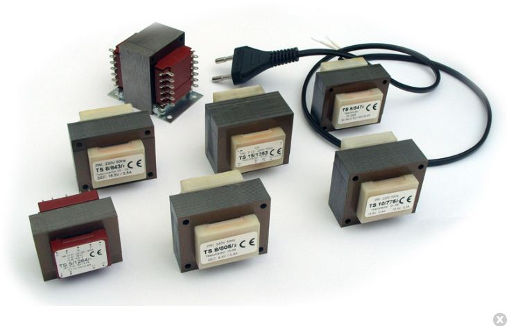 Kupić Transformatory sieciowe 1...42 VA (obudowane)