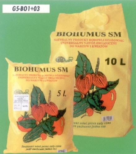 Kupić Produkty Naturalne Posypowe, Biohumus SM