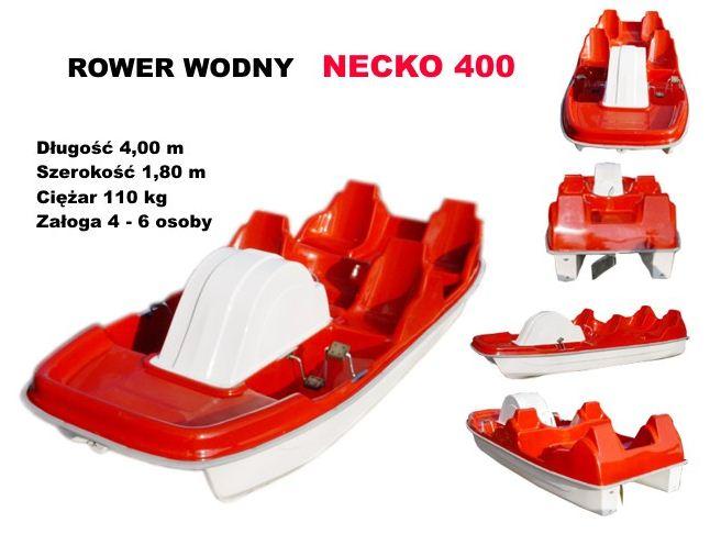 Rowery wodne.