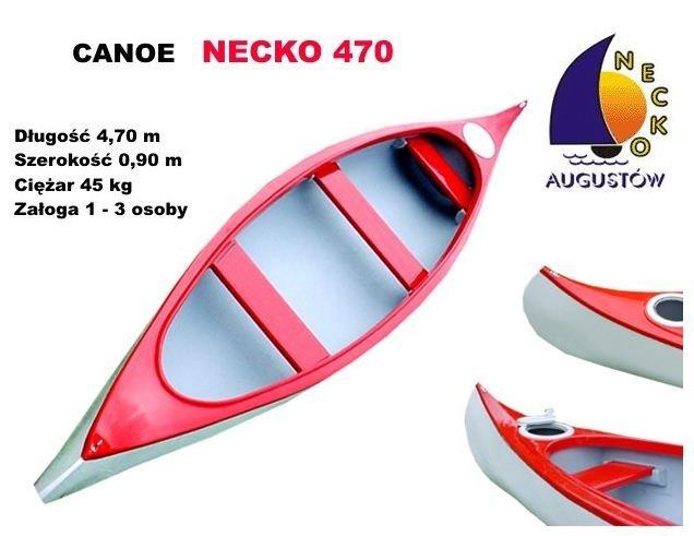 Canoe dla 2-3 osób, bardzo solidnie wykonane, stabilne, z  łatwymi w demontażu ławeczkami. Posiada dwa uchwyty do przenoszenia oraz dwie komory wypornościowe w tym jedna sucha mieszcząca bagaż o pojemności 30 litrów.