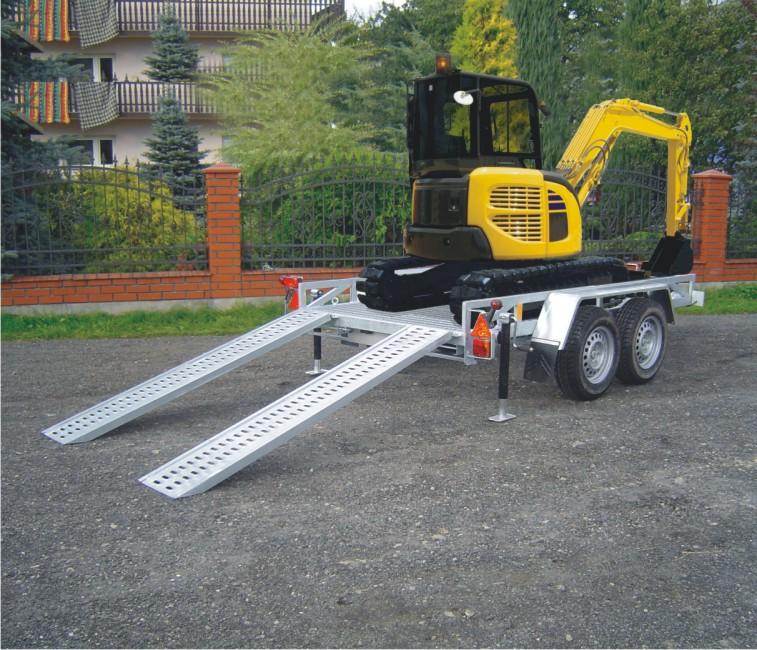 Kupić Przyczepo-lawety pod koparki dmc: od 1400 DO 3500 kg