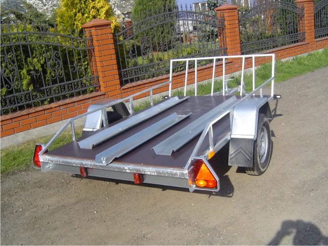 Kupić Przyczepo-lawety pod transportu motocykli A-750/4/D4