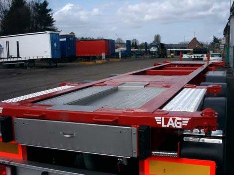 Kupić Naczepy-podwozia pod kontenery