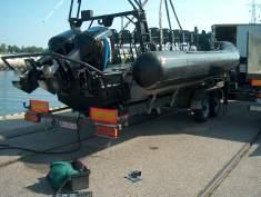 Kupić Przyczepa do transportu łodzi PŁ - 2 - 6,5