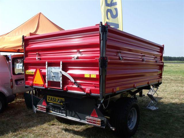 Kupić Przyczepa rolnicza jednoososiowa D-761
