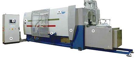 Kupić Wydajne maszyny gorącokomorowe NTP serii WEM H M o specjalnej konstrukcji do produkcji wszystkich stosowanych stopów magnezu takich jak AM 50, AM 60 oraz AM Lite.