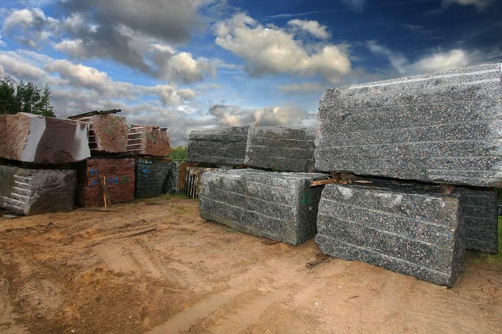 Kupić Bloki granit, marmur