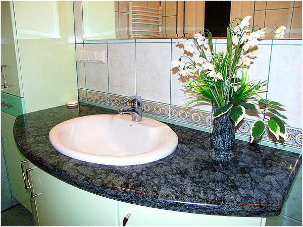 Kupić Blaty łazienkowe nr 05 Granit: Olive Green