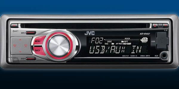 Kupić Radia samochodowe JVC KD-R402