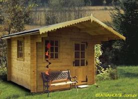 Kupić Drewniane domy ogrodowe